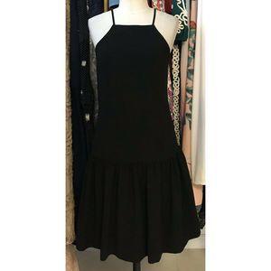 Trina Turk Doheny Drop Waist Dress Size 2- Black